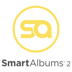 SmartAlbums Logo with text 1