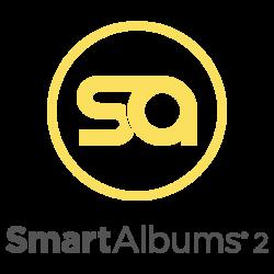 SmartAlbums Logo with text 1